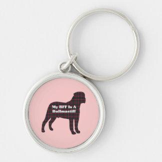 Bullmastiff BFF Keychains