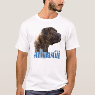 Bullmastiff (brindle) Name T-Shirt