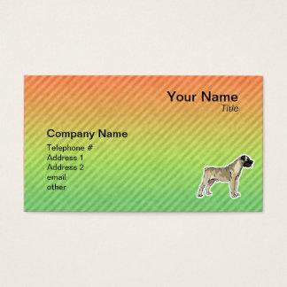 Bullmastiff Business Card
