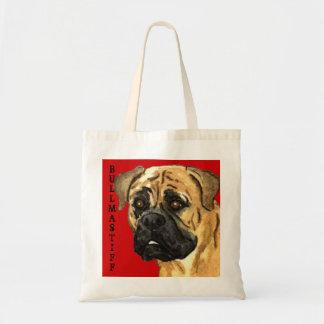 Bullmastiff Color Block Tote Bag