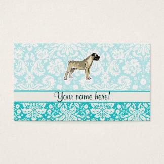 Bullmastiff; Cute Business Card