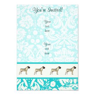 Bullmastiff; Cute Card
