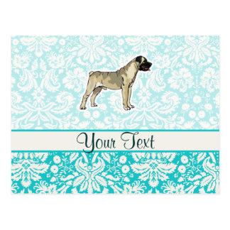Bullmastiff; Cute Postcard