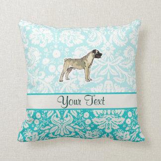 Bullmastiff; Cute Throw Pillow