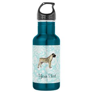 Bullmastiff; Cute Water Bottle