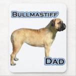 Bullmastiff Dad 4 Mouse Pad