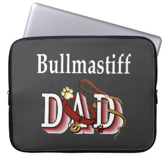 Bullmastiff Dad Laptop Sleeve