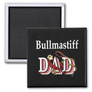 bullmastiff dad Magnet