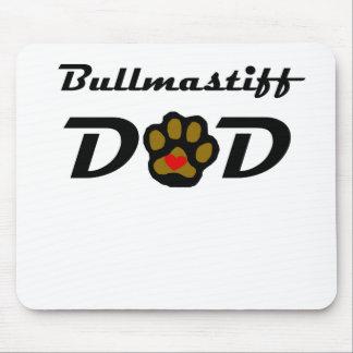 Bullmastiff Dad Mouse Pads