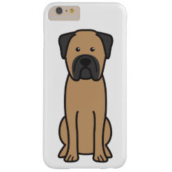Case-Mate Barely There iPhone 6 Plus Case with Bullmastiff Phone Cases design