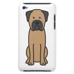 Case-Mate iPod Touch Barely There Case with Bullmastiff Phone Cases design