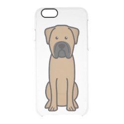Uncommon iPhone 6 Clearly™ Deflector Case with Bullmastiff Phone Cases design