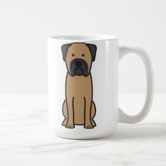 Bullmastiff Dog Cartoon Coffee Mug