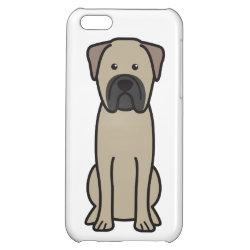 Case Savvy Matte Finish iPhone 5C Case with Bullmastiff Phone Cases design