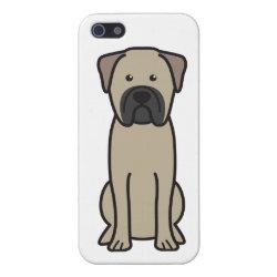 Case Savvy iPhone 5 Matte Finish Case with Bullmastiff Phone Cases design