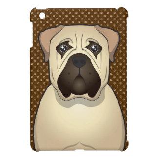 Bullmastiff Dog Cartoon Paws iPad Mini Cases