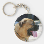Bullmastiff Dog Keychains