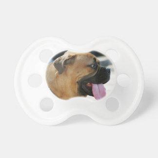 Bullmastiff Dog Baby Pacifier