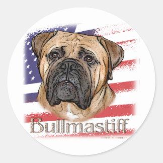 Bullmastiff Etiqueta