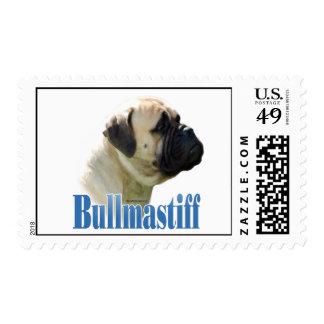 Bullmastiff (fawn) Name Stamps