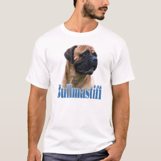 Bullmastiff (fawn) Name T-Shirt
