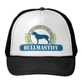 Bullmastiff Trucker Hats