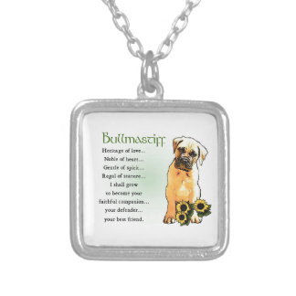 Bullmastiff Heritage of Love Gifts Necklaces