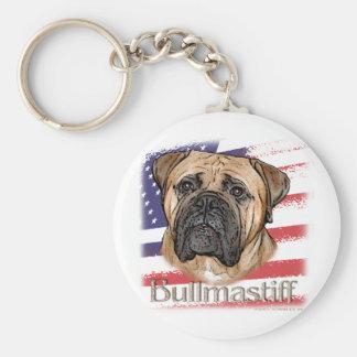 Bullmastiff Keychain