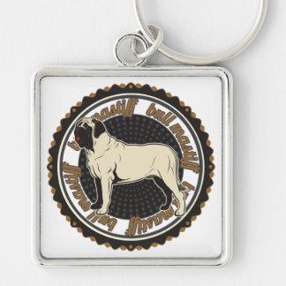 Bullmastiff Key Chain