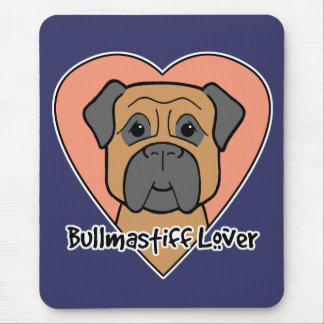 Bullmastiff Lover Mouse Pads