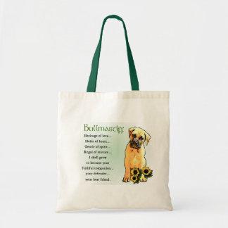 Bullmastiff Lovers Gifts Tote Bag