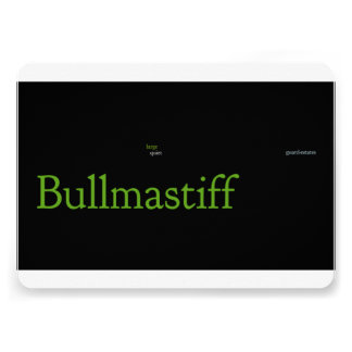 bullmastiff mashup png personalized announcements