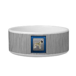 Bullmastiff; Mirada del metal de Bruhsed Comedero Para Mascota