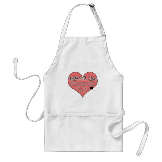 Bullmastiff Mixes Paw Prints Dog Humor Adult Apron