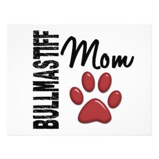 Bullmastiff Mom 2 Full Color Flyer