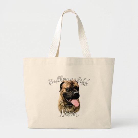 Bullmastiff Mom 2 Large Tote Bag