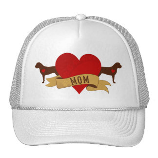 Bullmastiff Mom [Tattoo style] Trucker Hat