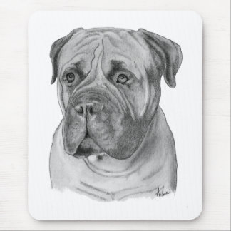 Bullmastiff Mouse Pad