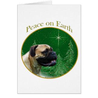 Bullmastiff Peace Card