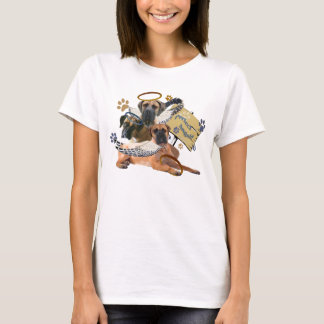 Bullmastiff Perfect Angel Apparel T-Shirt