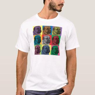 Bullmastiff Pop-Art T-Shirt