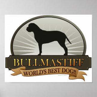 Bullmastiff Poster