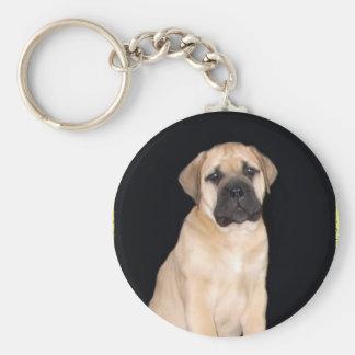 Bullmastiff Puppy keychain