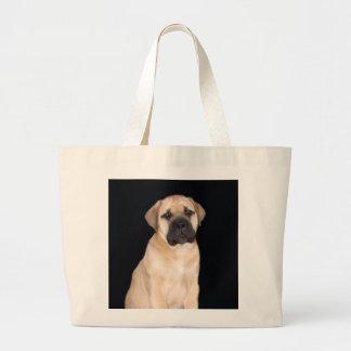 Bullmastiff Puppy tote bag