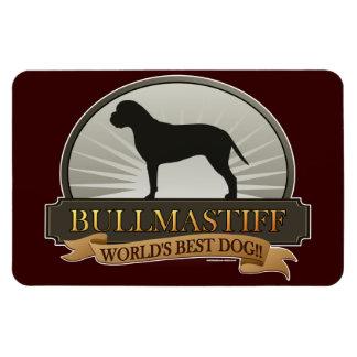 Bullmastiff Rectangular Photo Magnet