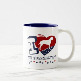 Bullmastiff Two-Tone Coffee Mug