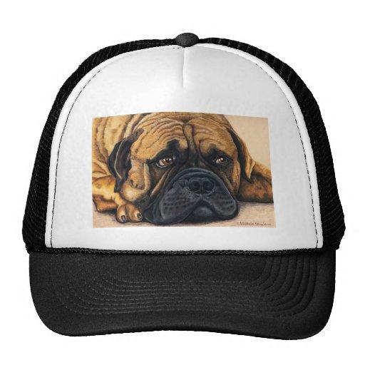 Bullmastiff Waiting - Dog Breed Art Trucker Hat
