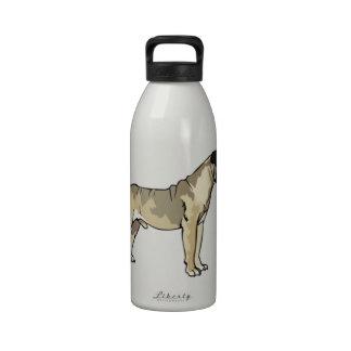 bullmastiff botellas de beber