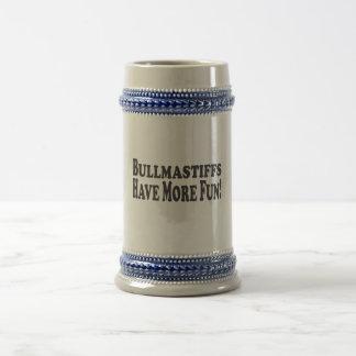 Bullmastiffs Have More Fun! Add your own photo Beer Stein