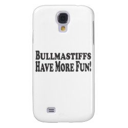 Case-Mate Barely There Samsung Galaxy S4 Case with Bullmastiff Phone Cases design